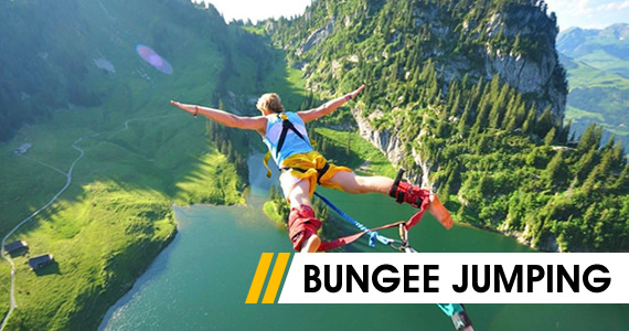 bungee jumping a o aventura. Black Bedroom Furniture Sets. Home Design Ideas