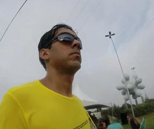 A emoção da primeira maratona