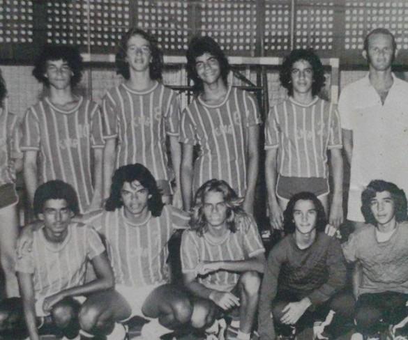 História  do Esporte: Reveja os nossos atletas do time de Handebol do Circulo Militar de Pernambuco