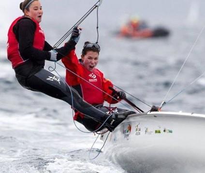 Fernanda Oliveira e Ana Barbachan conquistam medalha de Prata na Copa do Mundo em Hyères