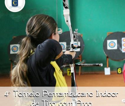 4° Torneio Pernambucano Indoor de Tiro com Arco será realizado no próximo domingo dia 28 de agosto, o Caxangá Golf & Country Club