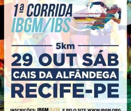 1ª Corrida e Caminhada Faculdade IBGM, será realizada próximo sábado, 29 de Outubro