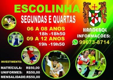 Clube Português do Recife abre novas turmas de escolinhas de Handebol!