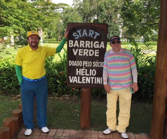 Entrevista: Um dos grandes golfistas de Pernambuco, Hélio Valentim,fala sobre sobre sua paixão esportiva!