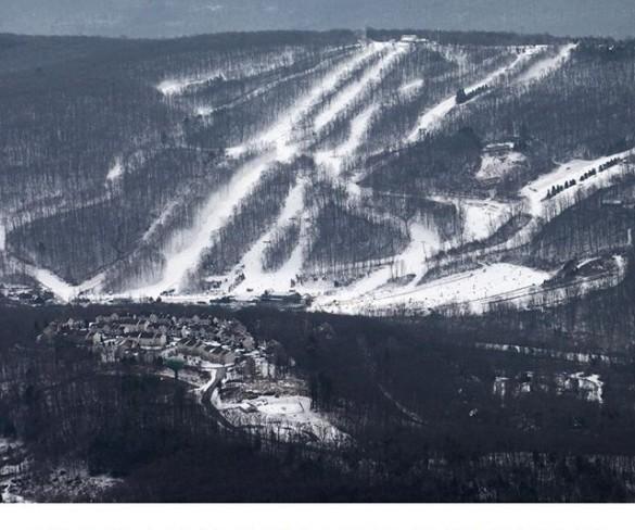 Onde esquiar nos EUA no estado da Pennsylvania