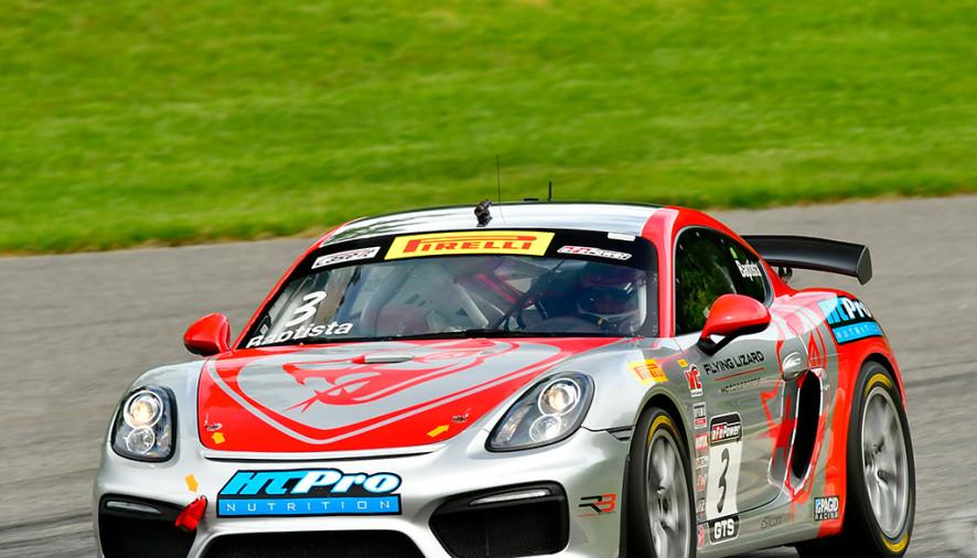 Automobilismo: Rodrigo Baptista conquista duas vitórias na Pirelli World Challenge, nos EUA