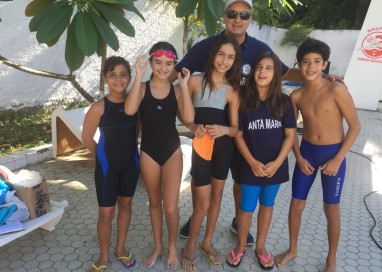Atletas de 8 a 12 anos participaram do 2º Torneio Pernambucano de Natação das categorias Pré-Mirim, Mirim e Petiz