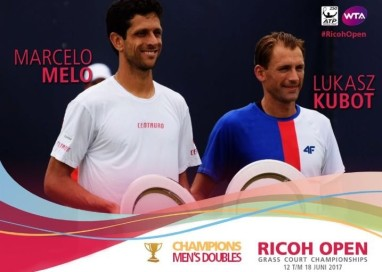 Marcelo Melo e Lukasz Kubot confirmaram o favoritismo e foram campeões do Ricoh Open, torneio ATP 250, realizado em 's-Hertogenbosch, na Holanda