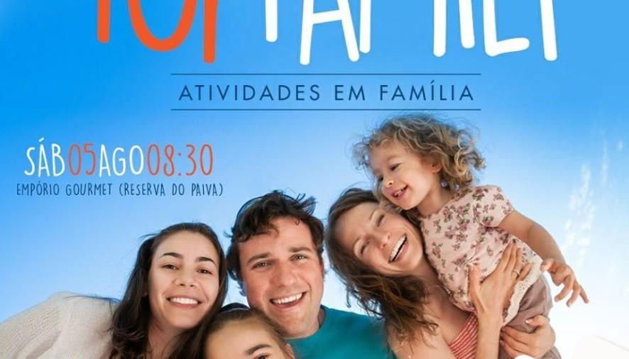 Neste sábado, 5 de Agosto, a Academia Top Fit promove, às 8h30 na Reserva do Paiva, uma manhã diferente com muitas atividades!