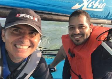 Ricardo Dubeux ministra a primeira aula de vela adaptada em Pernambuco com sucesso!