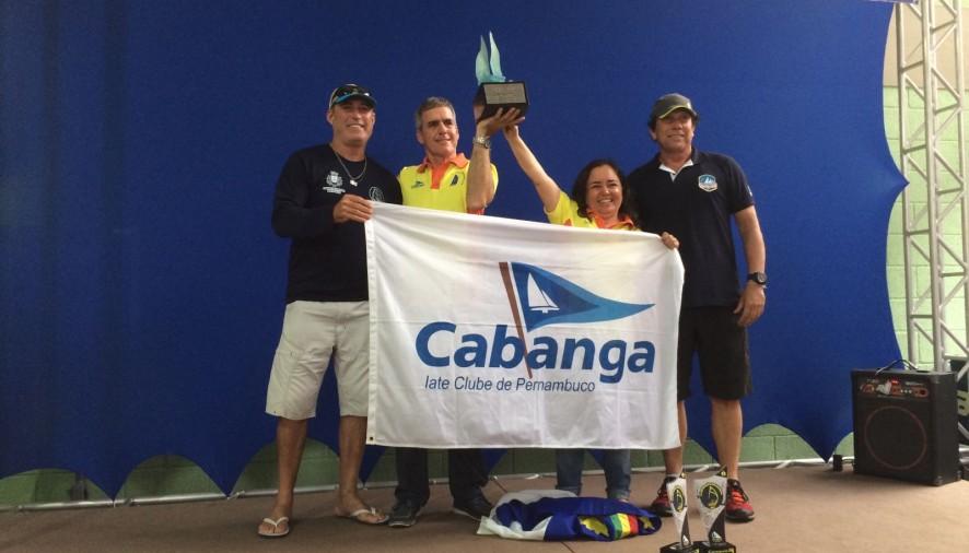 Hans e Karina Hutzler levaram Pernambuco ao topo do nacional na classe Dingue