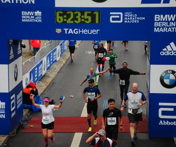 Alessandra Invitti conta como foi sua primeira Maratona – BMW Berlin Marathon 2017