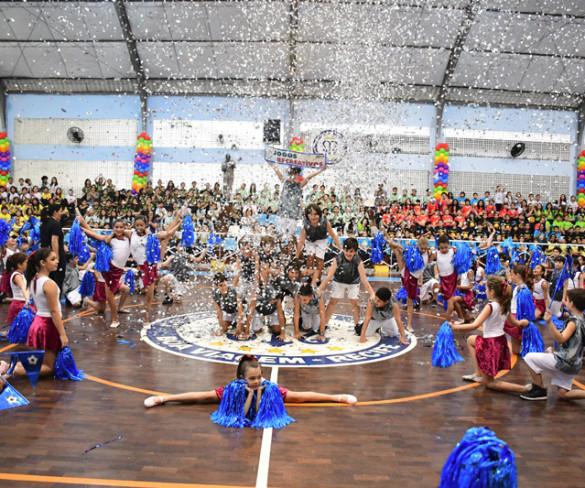 O Colégio Santa Maria de Boa Viagem – Recife, celebra em grande estilo, os Jogos Recreativos 2017