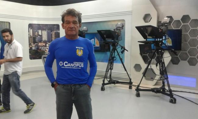 Ultramaratonista Paulo Galvão