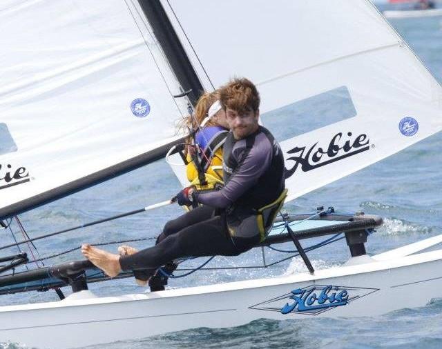 Representante do Brasil na Semana de Vela de Sylt, Alemanha, o cearense Daniel Nottingham, manda seu recado para a moçada do Brascat