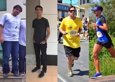 Assista o bate-papo do Cracrá e conheça a linda história de André Burgos que perdeu 30kg correndo!