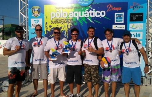 Equipe do Iate Serigy fica em 3º no Campeonato Sergipano de Polo Aquático