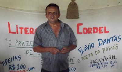 O Poeta do Povão Flávio Dantas
