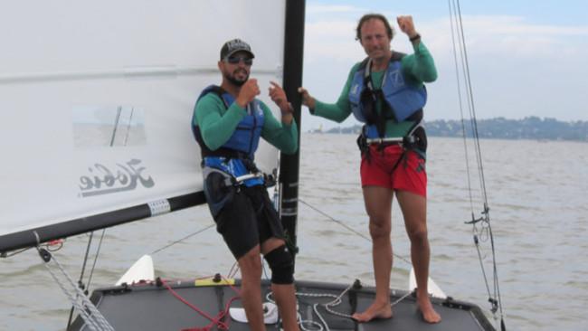 O atual Campeão Brasileiro, o paulista Claudio Teixeira, manda um recado para os velejadores do Brascat 2017
