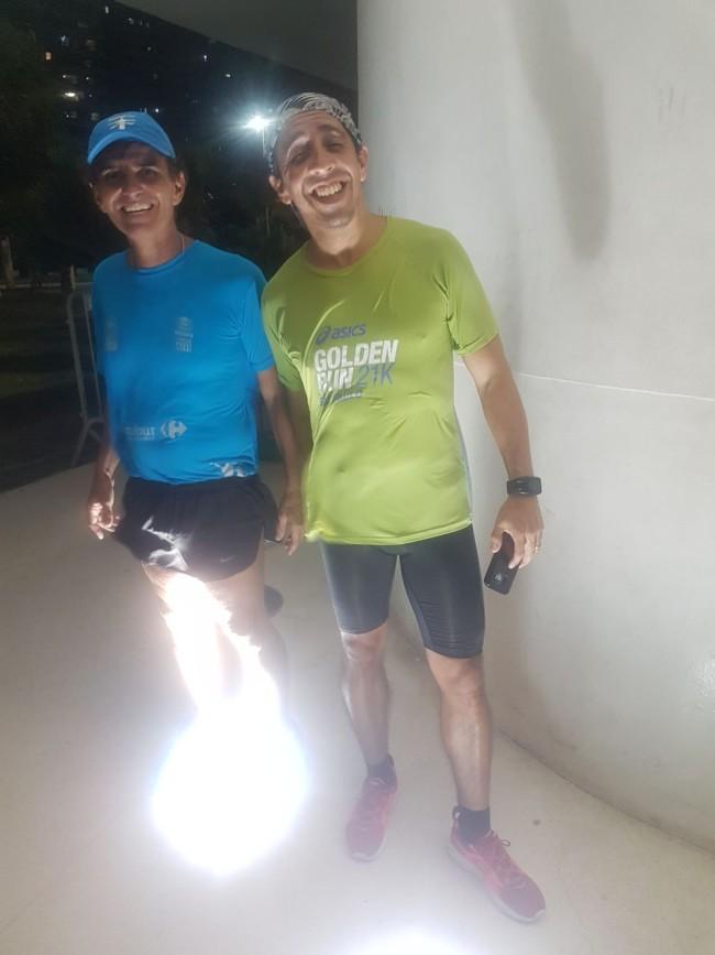 Ricardo e Sergio: amigos que amam correr!