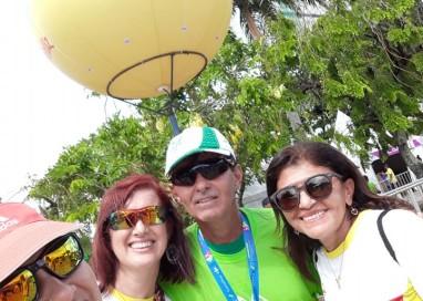 A Corrida das Pontes do Recife 2018 contou com mais 6 mil atletas no domingo dia 25 de março