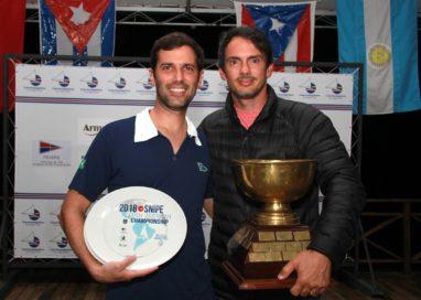 Bruno Bethlem e Rodrigo Lins são os campeões do Sul-Americano da Classe Snipe Open 2018