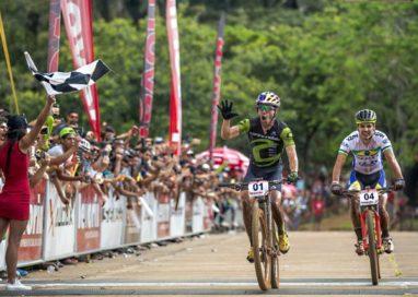 Brasil e EUA são os campeões da Copa Internacional Levorin de Mountain Bike em Araxá-MG