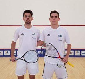 Squash: dupla brasileira estreia com vitória no Pan-Americano Juvenil em Brasília
