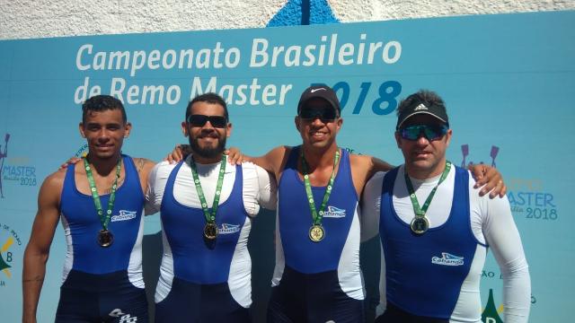 Cabanga conquista três ouros no Campeonato Brasileiro de Remo Master