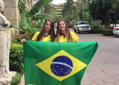 LUIZA MORÉ, do Jangadeiros, é Top 10na Flotilha Prata doNorte-Americano de Optimist 2018e ajudou a trazer para oBrasil o título de vice-campeã por equipe