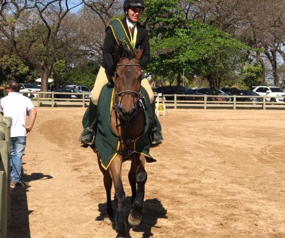 Maria Eduarda Nepomuceno, won Sunday the title of the Brazilian Championship of Amazona, held at Brasilia-BR