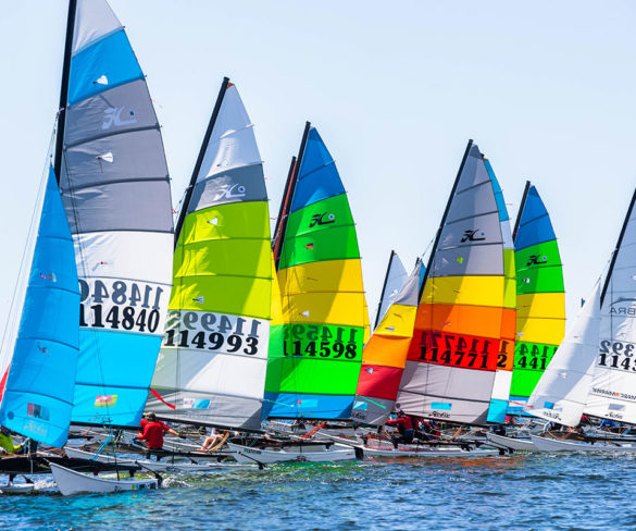Congratulations to all the sailors who made the best Hobie Cat 16 American Championship of all time!
