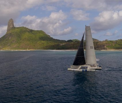 Representatives of the state of Pernambuco-Brazil, won the 30th Recife International Fernando de Noronha Race with the boat Patoruzú after five years