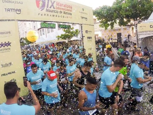 Ninth edition International Maurício de Nassau Marathon, in Recife, was an absolute success!