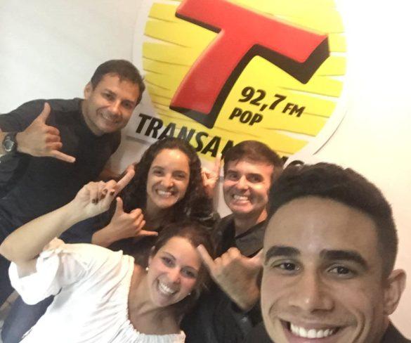 Programa Transamérica Ação e Aventura entrevista Pedro Morato, campeão de Fisiculturismo e também atletas do Paraquedismo de Pernambuco