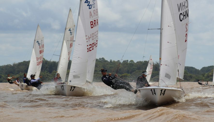 A pernambucana Marina da Fonte, formando dupla com a baiana Marina Arndt, conquistou o título da Campeonato Brasileiro da classe 420 feminino
