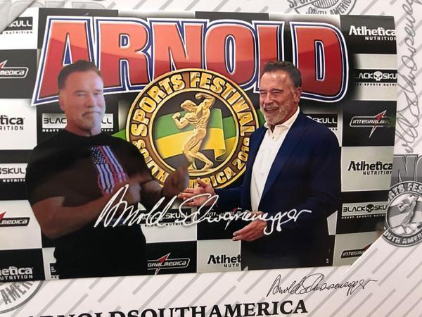 Celebridades agitam os três dias do Arnold Sports Festival South America em São Paulo