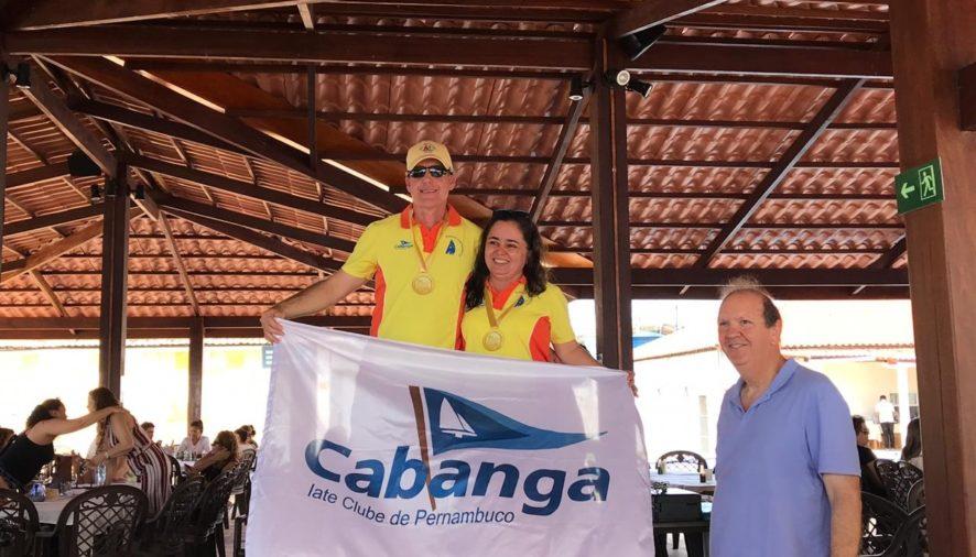 Hans e Karina Hutzler são campeões no Norte-Nordeste de Dingue