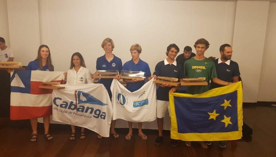 Marina da Fonte e Marina Arndt são campeãs do Sul-Americano de 420 feminino