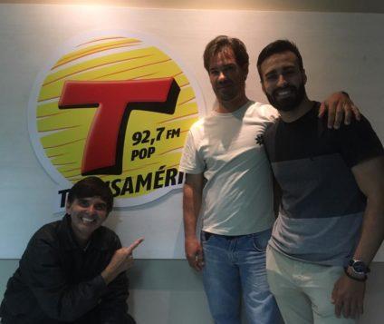 Programa Transamérica Ação e Aventura falando sobre IATISMO foi um show de Edival Júnior e Yuri Reithler