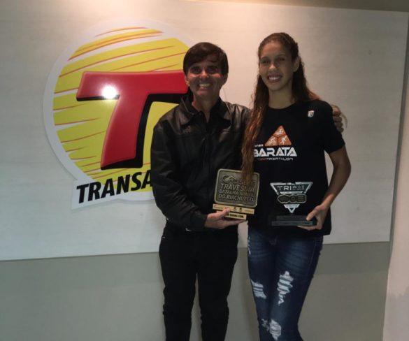 Programa Transamérica Ação e Aventura com a campeã de triathlon Carolline Gomes foi sucesso!