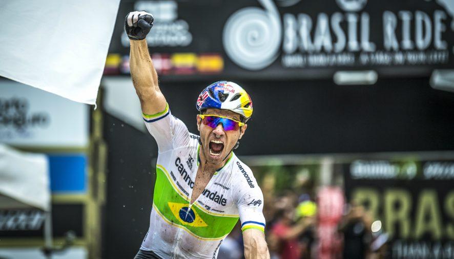 A etapa do cross country, penúltima da Brasil Ride 2019, teve sua largada realizada às 10h da manhã de sexta-feira (25)
