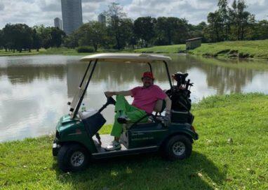 Hélio Valentin brilha no campo de Golf do Caxanga Golf & Country Club