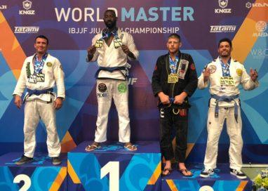 O pernambucano Dorival Melo conquistou a medalha de Bronze no World Master Of Jiu Jitsu 2019 no mês de agosto em Las Vegas, EUA