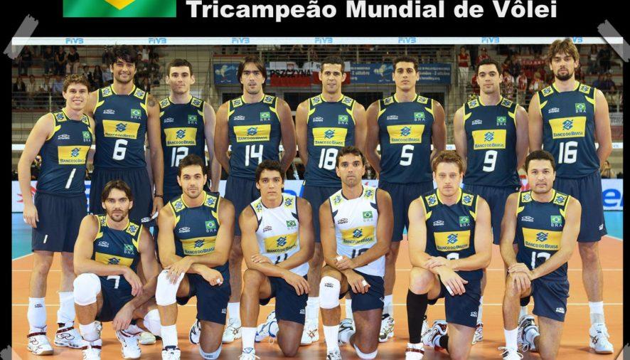 Seleção Brasileira de Voleibol Masculino é Tri-Campeã da COPA DO MUNDO! VOCÊS SÃO NOSSO ORGULHO!