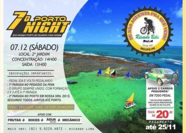 Hoje, quinta-feira, dia 05 de Dezembro, é dia do pedal do Ricardo Bike, às 20h30! Sábado 07, tem Porto Night!