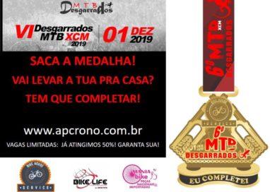 VI Desgarrados MTB XCM será realizada no próximo domingo, dia 01 de dezembro!