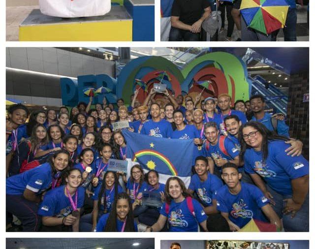 Pernambuco encerrou a participação nos Jogos da Juventude em Blumenau com um resultado histórico