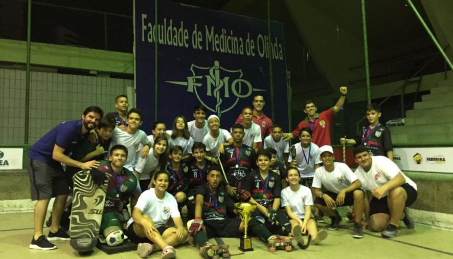 O Clube Português do Recife conquistou inúmeros títulos nos esportes amadores no ano de 2019 como o Campeonato Brasileiro Sub-15 de Hóquei sobre Patins!