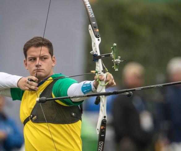 Marcus D' Almeida mantém Brasil em destaque no cenário mundial do tiro com arco